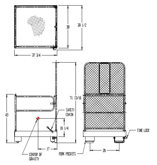 Archive 187 Fold Down Work Platform Sketch Indoff Forklift