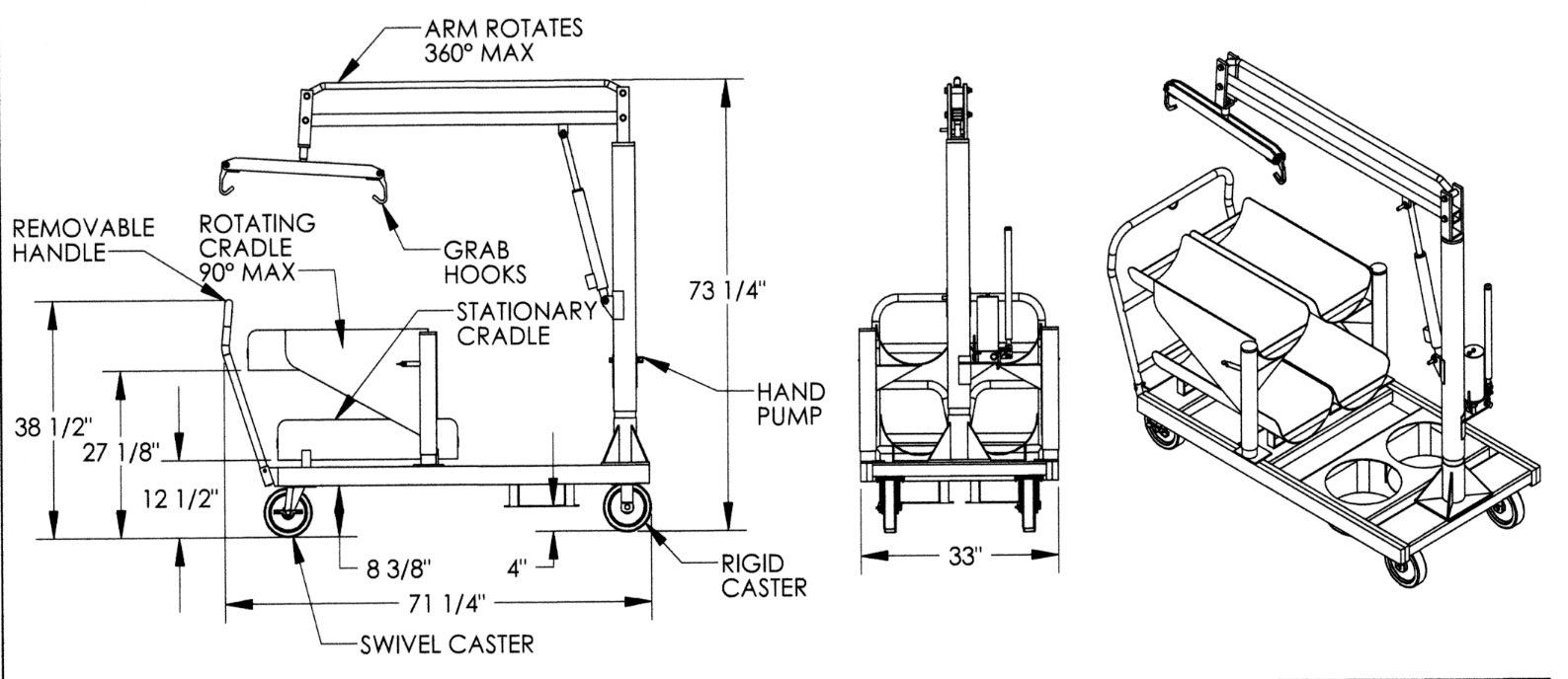Archive LP Tank Truck Drawing Indoff Forklift Accessories